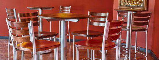 sillas y mobiliario para restaurantes