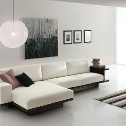 Muebles minimalistas para sala