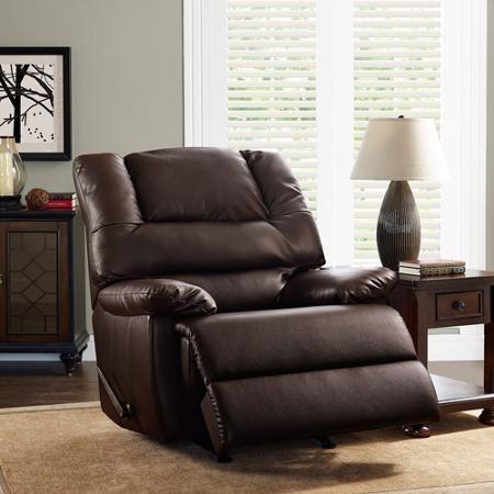 silla reclinable de piel