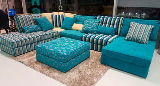 sofa en L personalizado